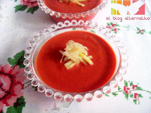 gazpacho macrobiotico sin tomate