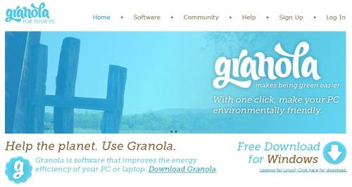 granola - Granola: programa para ahorrar energía en ordenadores Windows y Linux