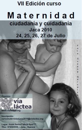 """jaca - VII curso de maternidad de Jaca: """"Maternidad, ciudadanía y ciudadanía"""""""