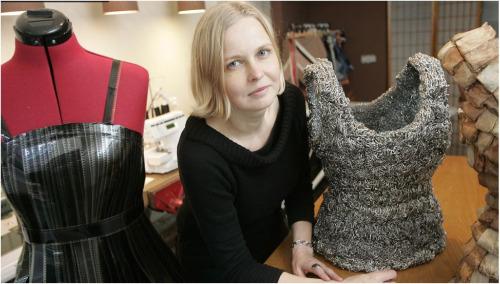 slow2 - SLOW FASHION, arte y reciclaje de Tytti Thusberg