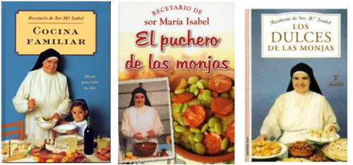 libros de cocina de sor isabel