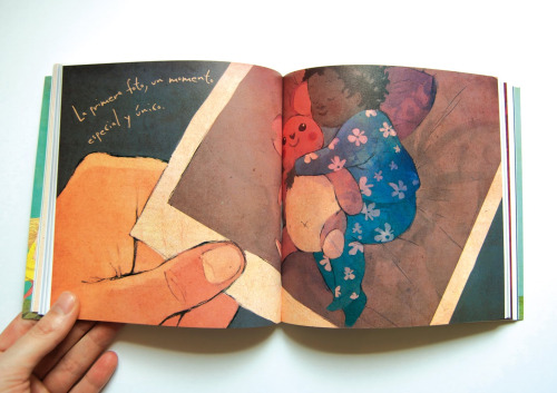 hijos de colores5 - hijos-de-colores: libro de adopción. Ilustración Conrad Roset