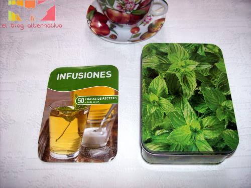 infusiones. 50 fichas de recetas