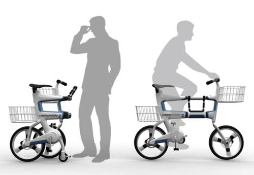 ville 2 - VILLE: la bicicleta que se convierte en carrito para la compra