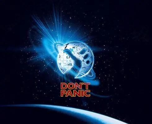 dont panic - dont panic douglas adams