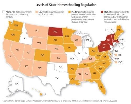 homeschooling-mapa