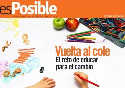 esPosible numero 8 Vuelta al cole El reto de educar para el cambio1 - Revista esPosible nº8: Vuelta al cole. El reto de educar para el cambio
