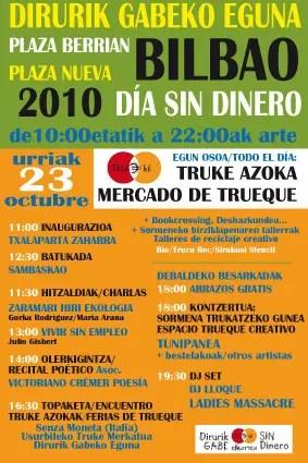 dia sin dinero - 2º Día Sin Dinero en Bilbao