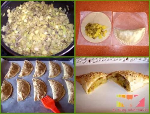 empanadillas de calabacin al curry