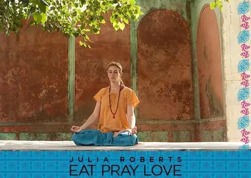 julia roberts goes hindu - come ama reza meditación