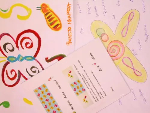 mariposa2 - Proyecto Mariposa: Amor en acción. Iniciativa solidaria para los niños de orfanatos, cárcel y hospital de varias ciudades