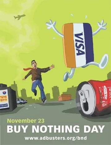BUY NOTHING - UN DÍA SIN COMPRAS: 364 días de consumo crítico