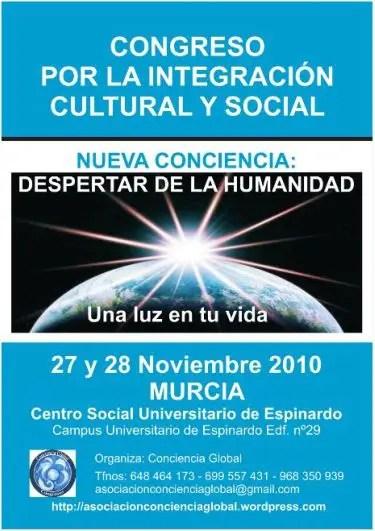 CONGRESO murcia1 - CONGRESO conciencia global murcia