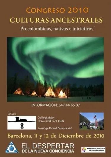 culturas ancestrales - Congreso de Culturas Ancestrales en Barcelona, 11 y 12 de diciembre 2010