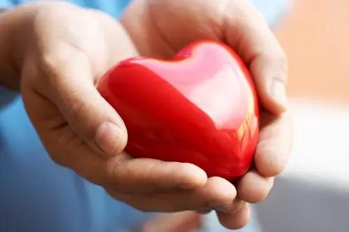heart in hands - Tienes lo que das