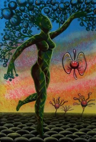 mujer arbol - mujer arbol
