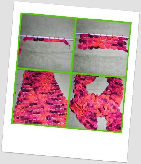 Collage de Picnik4 - bufanda de bolas