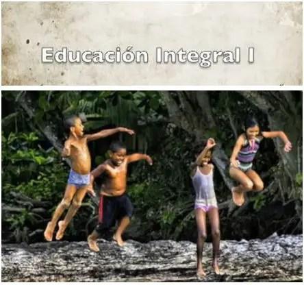 """educacion integral1 - EDUCACIÓN INTEGRAL I: """"Nadie le dice a un árbol cómo crecer..."""""""