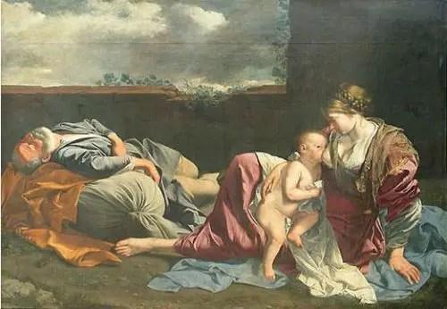 maria1 - El Niño Jesús fue criado y educado en casa