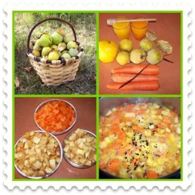 membrillo picnic - Receta de compota de membrillo y zanahoria a los cítricos