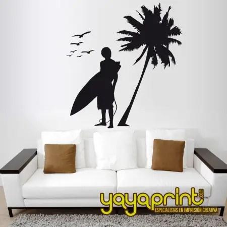 surf - Yayaprint: originales vinilos decorativos para niños y mayores
