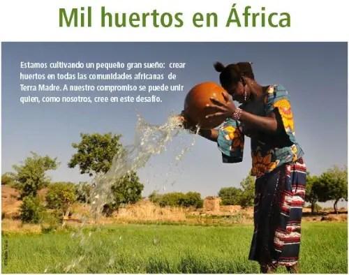 terra madre  mil huertos en África