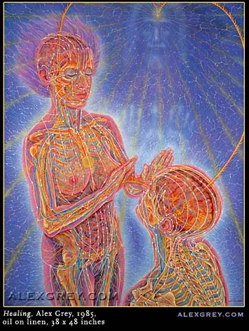 alex grey healing