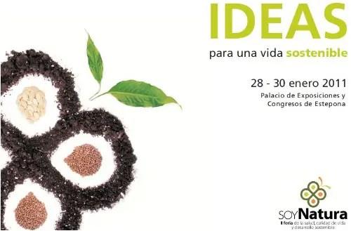 soynatura2 - SoyNatura 2011: II Feria Internacional de la Salud, Calidad de Vida y Desarrollo Sostenible en Estepona (Málaga)