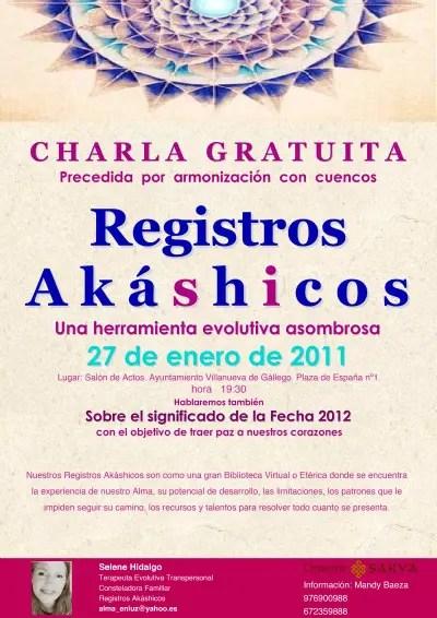 zaragoza registros akashicosb - Conferencia en Zaragoza sobre Registros Akáshicos y 2012: el 27 de enero 2011