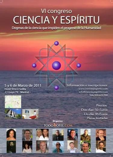 congreso ciencia y espiritu Madrid 2011