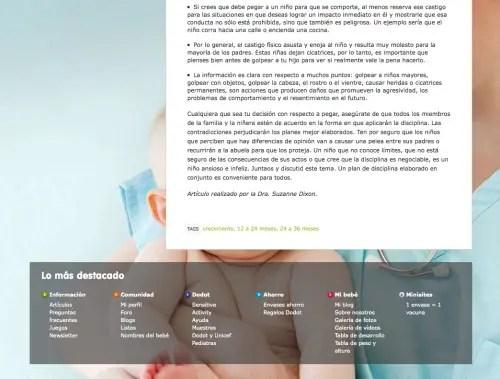 artículo dodot violencia 3 - Dodot aconseja sobre cómo pegar a los niños en su web y la red le obliga a rectificar