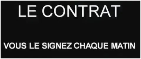 contrato - ¿Aceptas el mundo tal como está? Vídeo con 33 acusaciones (1 de 4)