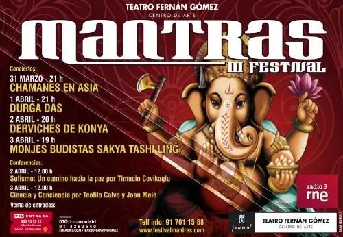 mantras - III Mantras Festival en Madrid