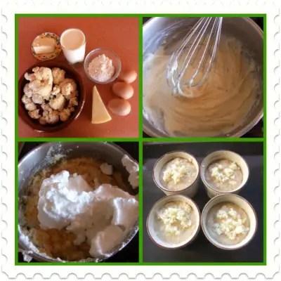 souflecollage - soufle de coliflor