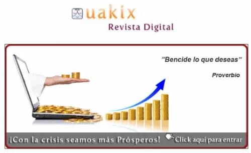 uakix - Seamos prósperos: Uakix marzo 2011