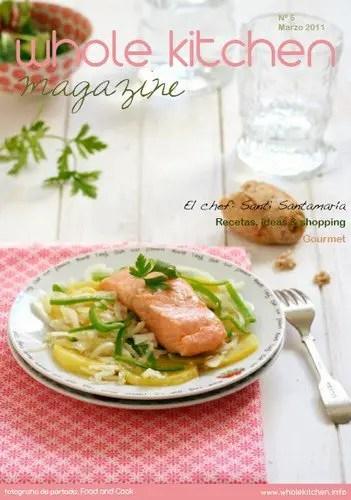 whole kitchen - Llega la primavera a la cocina: revista online Whole Kitchen Magazine nº 5