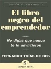 ellibronegrodelemprendedor - Los libros que lees y tú