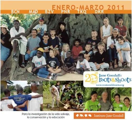 jane - Boletin del Instituto Jane Goodall en pdf: enero-marzo 2011 y próxima visita a España