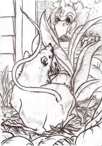 """raton ratonera - """"Cuando las barbas de tu vecino veas pelar..."""": Cuento del ratón y la ratonera"""