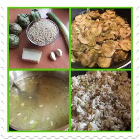 Collage de Picnik - rissoto de arroz integral