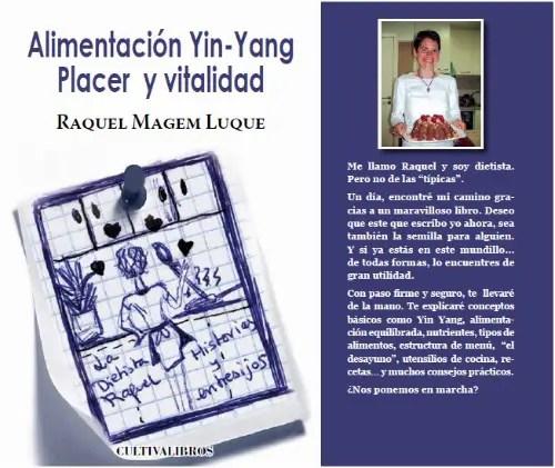 alimentacion ying yang raquel magen - La Fiesta macrobiótica y el libro de la dietista Raquel Magem