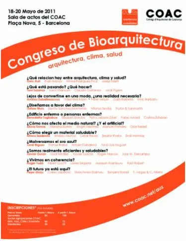 congreso de bioarquitectura - congreso de bioarquitectura