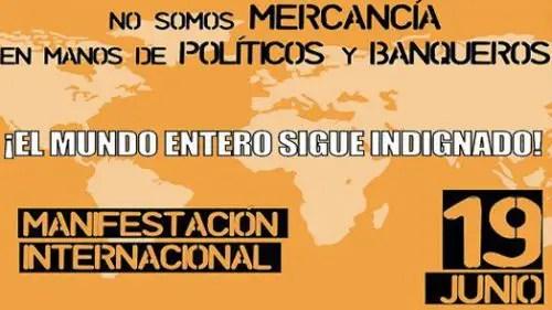 MANI EL 19 DE JUNIO 16X9 - 19 de junio 2011: toma la calle de nuevo porque la revolución sigue