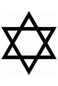 estrella de david 11001 500x705 - El significado arcano de los símbolos: El triángulo (4)