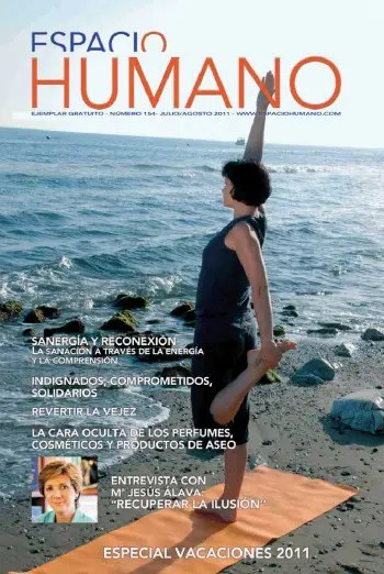"""espacio humano - Revista Espacio Humano julio-agosto 2011 con entrevista a la autora de """"Recuperar la ilusión"""""""