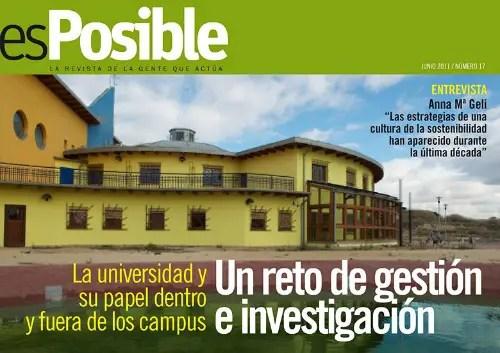 numero171 - Universidad y sostenibilidad, la asignatura pendiente. Revista esPosible nº 17