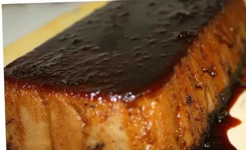 pudding de pan y chocolate