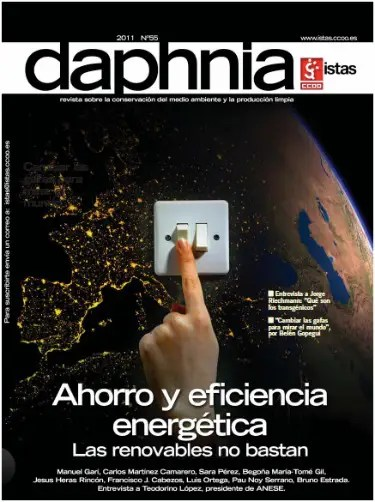 daphnia - Ahorro y eficiencia energética: revista Daphnia 55 en pdf