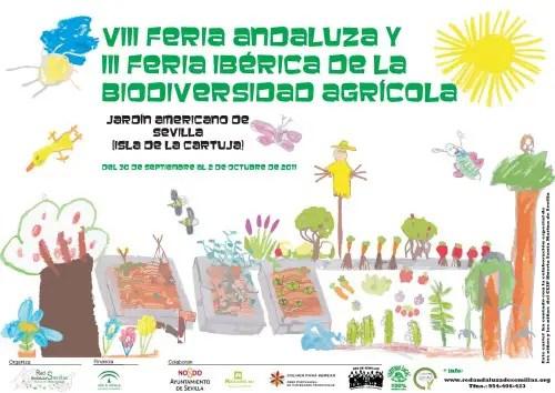 Cartel VIIIFAB IIIFIB v3baja calidad - VIII feria andaluza biodiversidad agricola