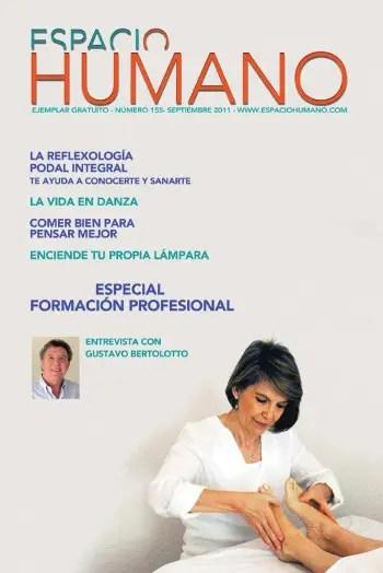 espacio humano 155 - Revista Espacio Humano septiembre 2011 con entrevista al experto transpersonal Gustavo Bertolotto